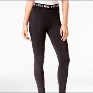 Energie Activewear High Rise Leggings Black